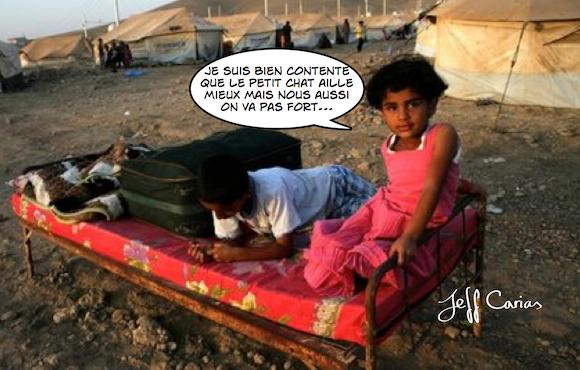 syrie réfugié