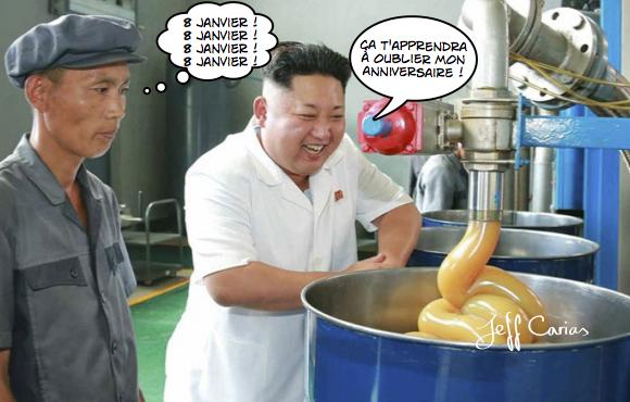 Kim Jong Anniv