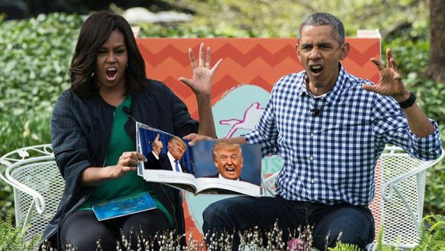 ObamaFamilly DTrump