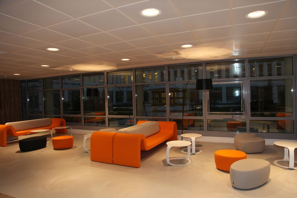 orange campus internal training center for managers